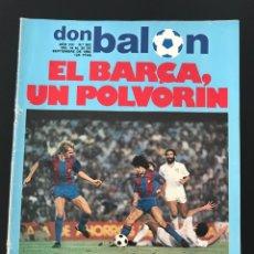 Coleccionismo deportivo: FÚTBOL DON BALÓN 362 - BARCELONA - CLEMENTE - CHINA - COPAS EUROPEAS - MARADONA - AS MARCA. Lote 207388637