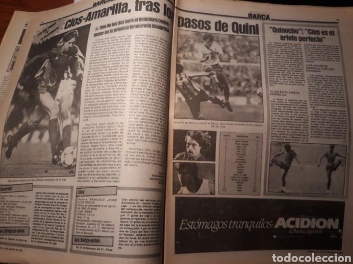 Coleccionismo deportivo: SPORT 28-3- 1984 MENOTTI RENOVARA ,TENDILLO, CLOS , AMARILLA , CLEMENTE, URBANO ,PERE CASACUBERTA, - Foto 3 - 207438107