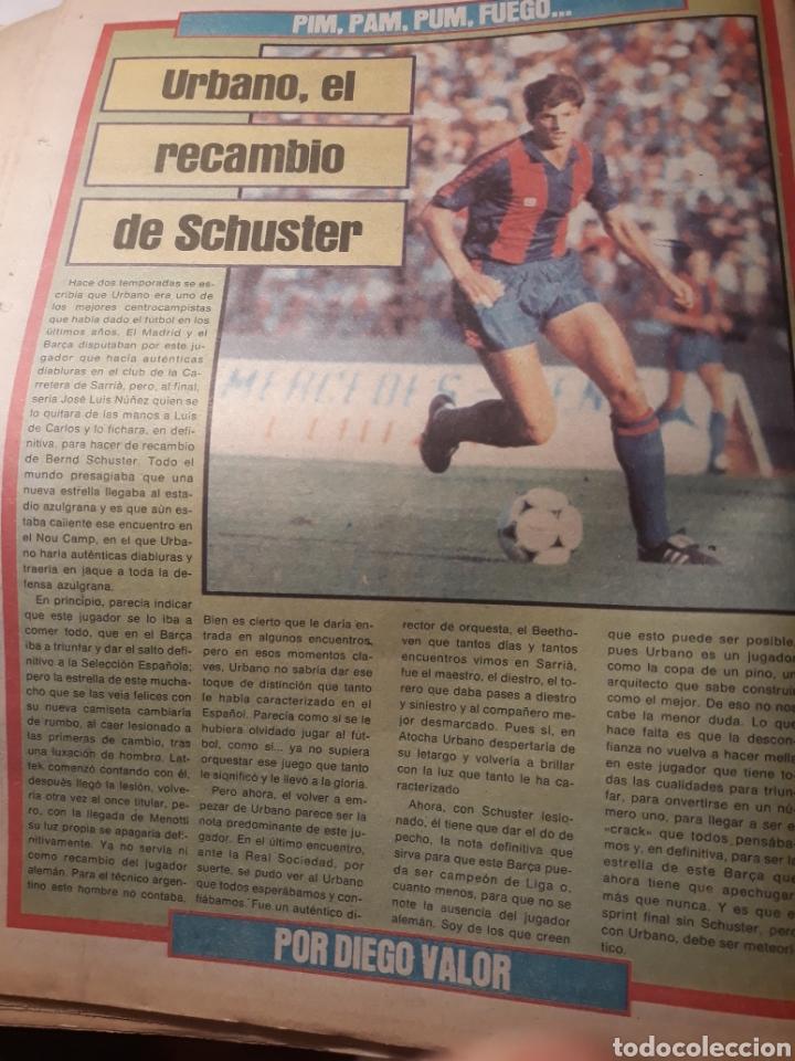 Coleccionismo deportivo: SPORT 28-3- 1984 MENOTTI RENOVARA ,TENDILLO, CLOS , AMARILLA , CLEMENTE, URBANO ,PERE CASACUBERTA, - Foto 7 - 207438107