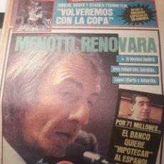 Coleccionismo deportivo: SPORT 28-3- 1984 MENOTTI RENOVARA ,TENDILLO, CLOS , AMARILLA , CLEMENTE, URBANO ,PERE CASACUBERTA,. Lote 207438107