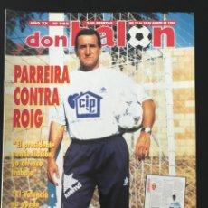 Coleccionismo deportivo: FÚTBOL DON BALÓN 982 - ATLÉTICO - RACING - OVIEDO - TENERIFE - SPORTING - ESPANYOL - VALÈNCIA. Lote 207499251