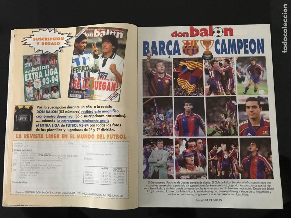 Coleccionismo deportivo: Fútbol don balón 968 - especial y póster Barça campeón liga - Previo final champions - atenas Milan - Foto 2 - 207548048