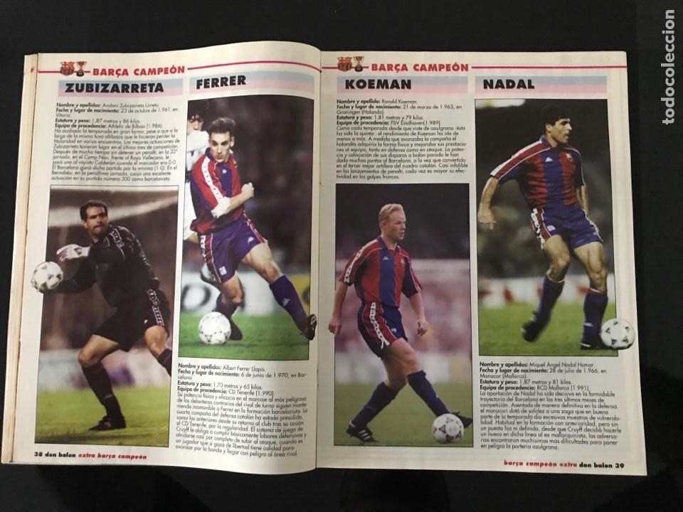 Coleccionismo deportivo: Fútbol don balón 968 - especial y póster Barça campeón liga - Previo final champions - atenas Milan - Foto 3 - 207548048