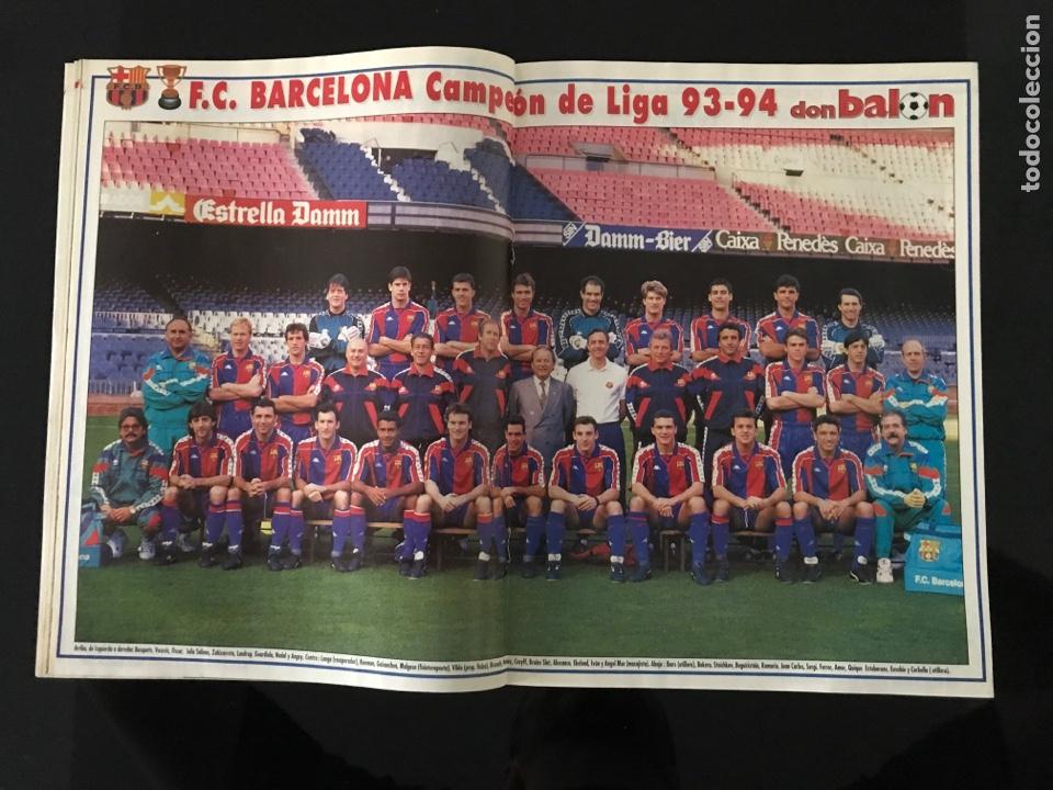 Coleccionismo deportivo: Fútbol don balón 968 - especial y póster Barça campeón liga - Previo final champions - atenas Milan - Foto 4 - 207548048
