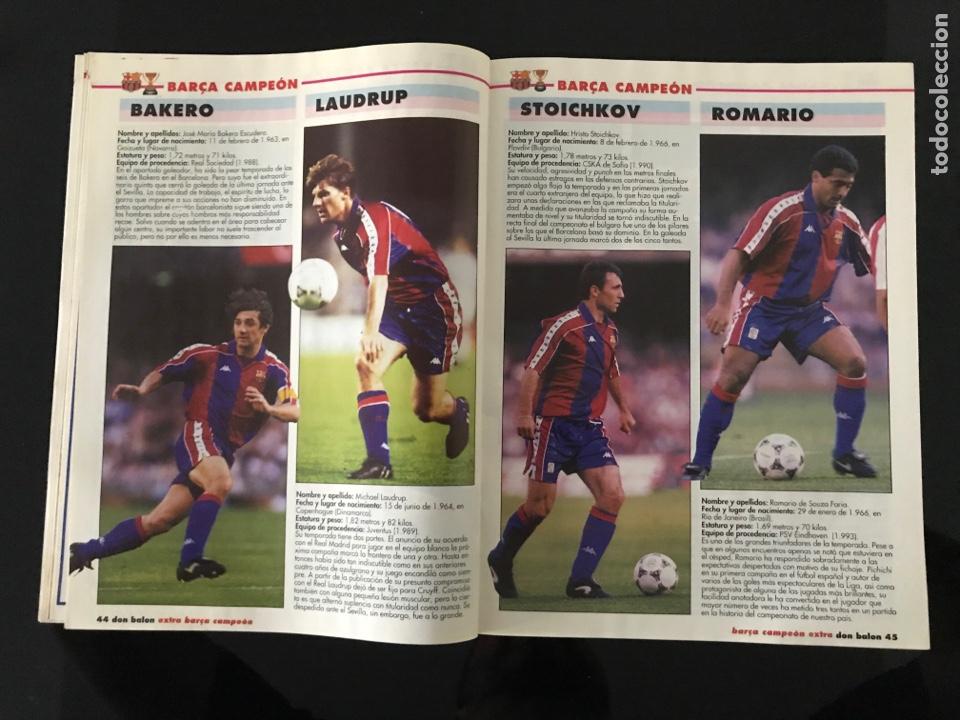Coleccionismo deportivo: Fútbol don balón 968 - especial y póster Barça campeón liga - Previo final champions - atenas Milan - Foto 5 - 207548048