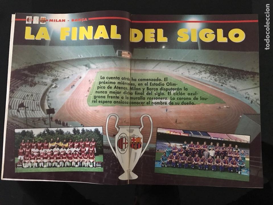 Coleccionismo deportivo: Fútbol don balón 968 - especial y póster Barça campeón liga - Previo final champions - atenas Milan - Foto 6 - 207548048