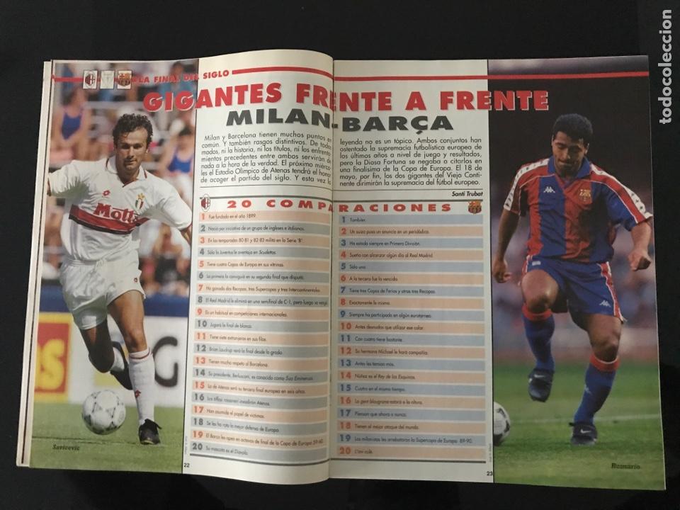 Coleccionismo deportivo: Fútbol don balón 968 - especial y póster Barça campeón liga - Previo final champions - atenas Milan - Foto 8 - 207548048