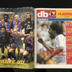 Coleccionismo deportivo: FÚTBOL DON BALÓN 1672 - POSTER LEVANTE - BARCELONA - CAPARRÓS - ROSSI - GUARDIOLA - ESPANYOL - HENRY. Lote 207580517