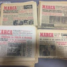 Coleccionismo deportivo: MARCA LOTE DE 100 EJEMPLARES AÑOS 50-60. Lote 207590162