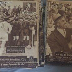 Coleccionismo deportivo: VIDA DEPORTIVA LOTE DE 100 EJEMPLARES AÑOS 40-50-60. Lote 207590842