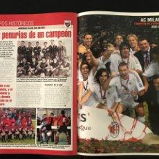 Coleccionismo deportivo: FÚTBOL DON BALÓN 1442 - POSTER MILÁN CAMPEÓN - PALERMO - HELGUERA MALLORCA FINAL CHAMPIONS BECKHAM. Lote 207685021