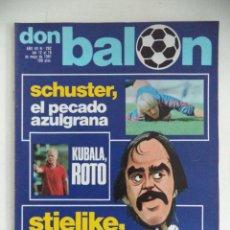 Coleccionismo deportivo: REVISTA DON BALON Nº 292 DEL 12 AL 18 DE MAYO 1981 SCHUSTER STIELIKE. Lote 207701921