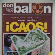 Coleccionismo deportivo: REVISTA DON BALON Nº 224 DEL 22 AL 28 DE ENERO 1980. Lote 207702697
