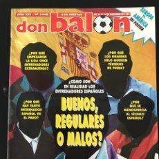 Coleccionismo deportivo: FÚTBOL DON BALÓN 1048 - GUILHERME - MADRID - ATLÉTICO - POSTER - ZARAGOZA - WEAH - ELBER - ATHLETIC. Lote 207716588