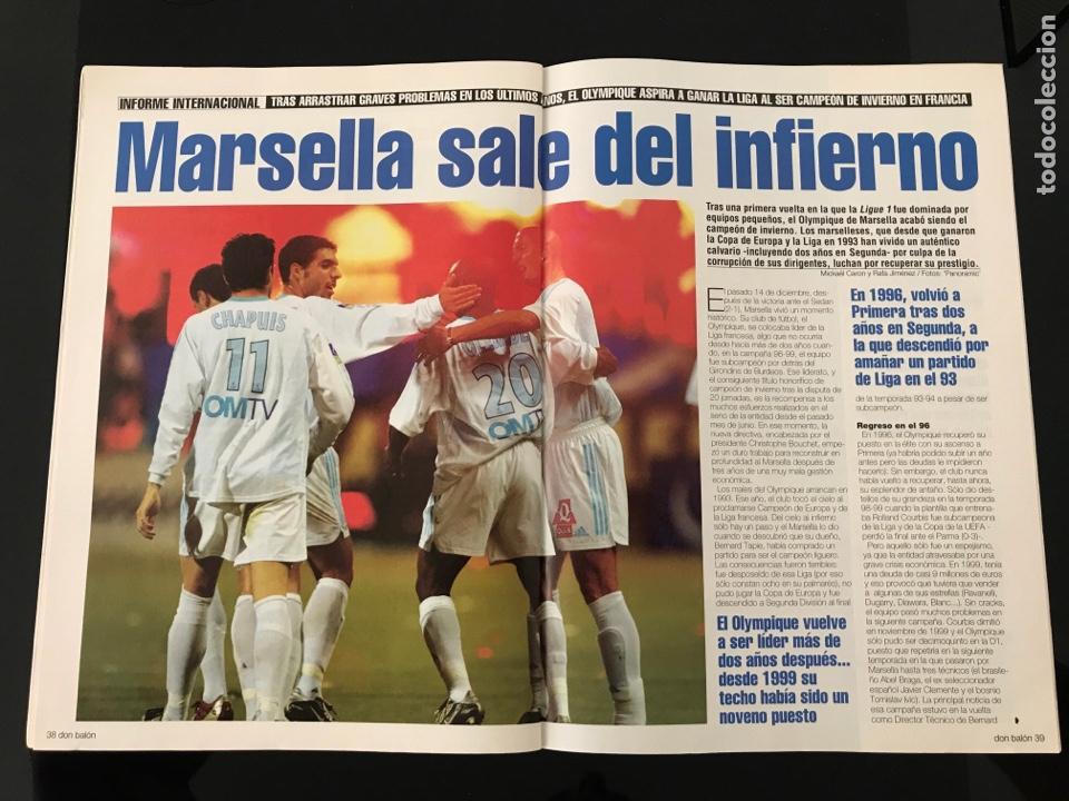 Coleccionismo deportivo: Fútbol don balón 1421 - Poster Celta - Charlton - Soler - Alonso - Piojo - Marsella - Bravo - Foto 6 - 207724495