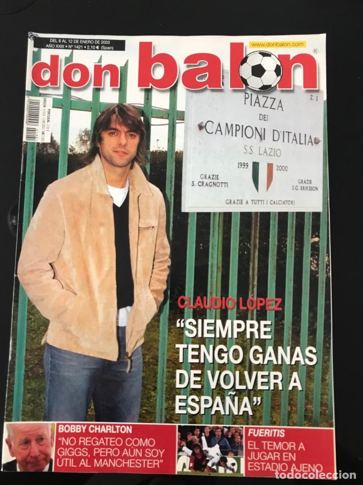 FÚTBOL DON BALÓN 1421 - POSTER CELTA - CHARLTON - SOLER - ALONSO - PIOJO - MARSELLA - BRAVO (Coleccionismo Deportivo - Revistas y Periódicos - Don Balón)