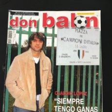 Coleccionismo deportivo: FÚTBOL DON BALÓN 1421 - POSTER CELTA - CHARLTON - SOLER - ALONSO - PIOJO - MARSELLA - BRAVO. Lote 207724495