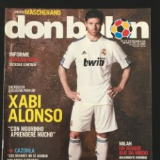 Coleccionismo deportivo: FÚTBOL DON BALÓN 1820 - POSTER MASCHERANO - ALONSO - MILÁN - CAZORLA - ATLÉTICO - ESPAÑA - ROONEY. Lote 207726791