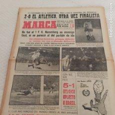 Coleccionismo deportivo: 25-4-1963 ATLÉTICO MADRID NUREMBERG RECOPA STOKE R. MADRID CENTENARIO. Lote 207738500