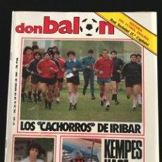 Coleccionismo deportivo: FÚTBOL DON BALÓN 441 - R. SOCIEDAD - SEÑOR - ATHLETIC - MADRID RECOPA BASKET - LOZANO. Lote 207792726