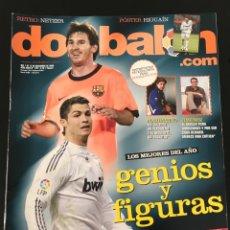 Coleccionismo deportivo: FÚTBOL DON BALÓN 1781 - POSTER HIGUAÍN - ESPAÑA - ESPANYOL - NETZER - BALOTELLI - NINO - MESSI - AS. Lote 207806306