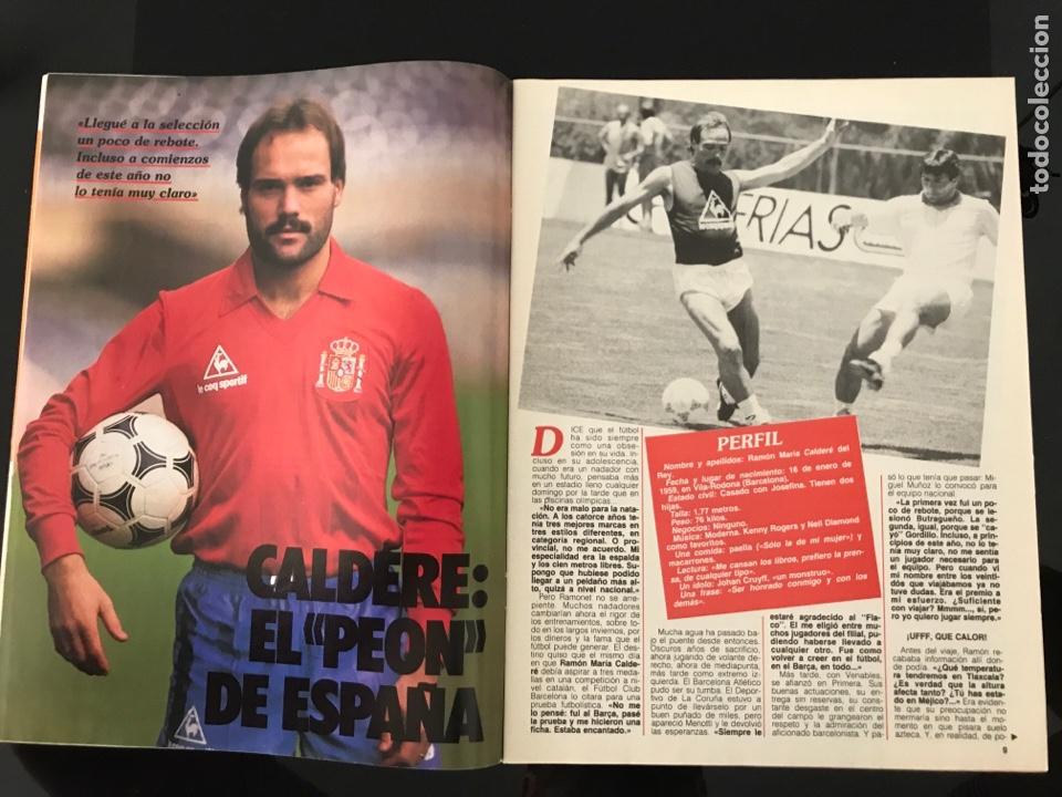 Coleccionismo deportivo: Fútbol don balón 556 - España México 86 - Historia Suecia 58 Chile 62 - Barça - Jerez - Salinas - Foto 2 - 207819832