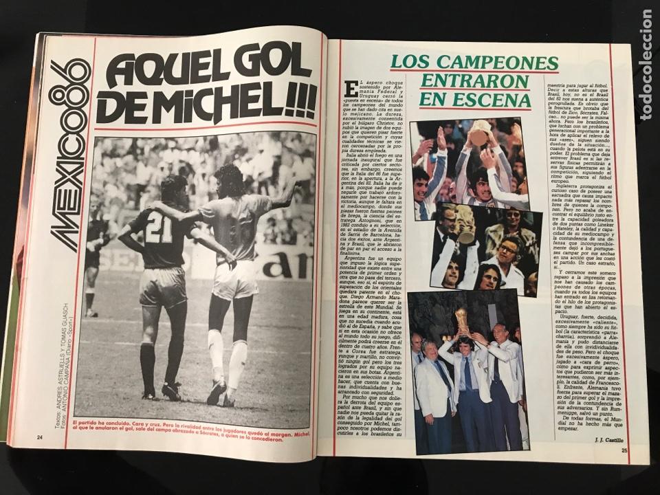 Coleccionismo deportivo: Fútbol don balón 556 - España México 86 - Historia Suecia 58 Chile 62 - Barça - Jerez - Salinas - Foto 3 - 207819832