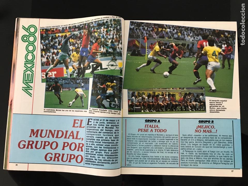 Coleccionismo deportivo: Fútbol don balón 556 - España México 86 - Historia Suecia 58 Chile 62 - Barça - Jerez - Salinas - Foto 4 - 207819832