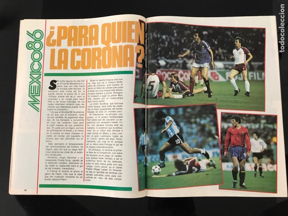 Coleccionismo deportivo: Fútbol don balón 556 - España México 86 - Historia Suecia 58 Chile 62 - Barça - Jerez - Salinas - Foto 8 - 207819832