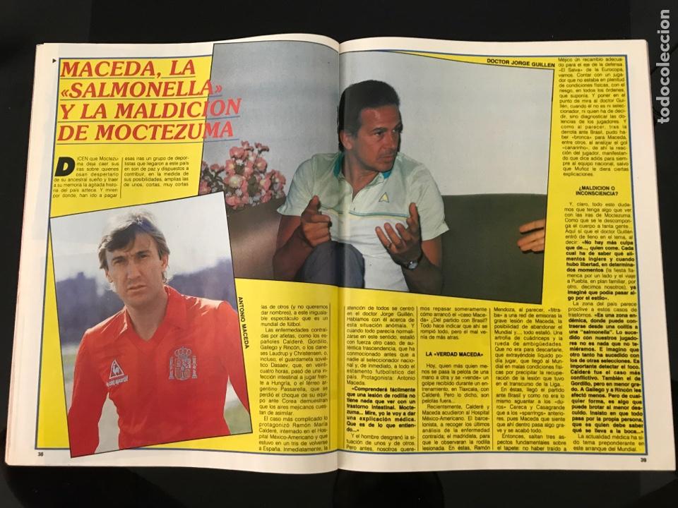 Coleccionismo deportivo: Fútbol don balón 556 - España México 86 - Historia Suecia 58 Chile 62 - Barça - Jerez - Salinas - Foto 9 - 207819832
