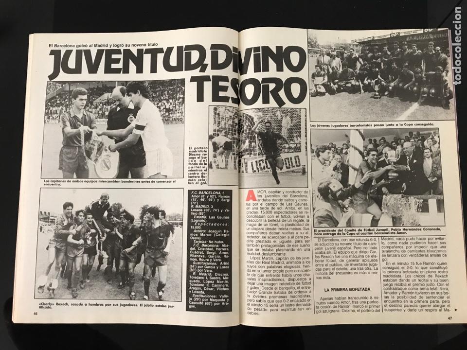 Coleccionismo deportivo: Fútbol don balón 556 - España México 86 - Historia Suecia 58 Chile 62 - Barça - Jerez - Salinas - Foto 10 - 207819832