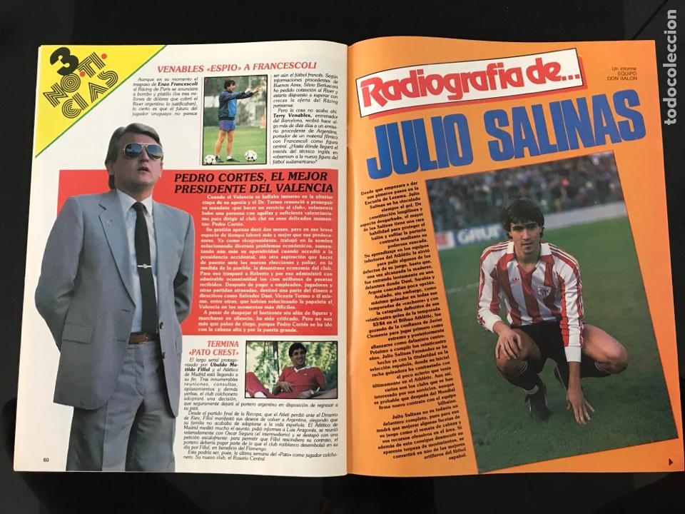 Coleccionismo deportivo: Fútbol don balón 556 - España México 86 - Historia Suecia 58 Chile 62 - Barça - Jerez - Salinas - Foto 11 - 207819832