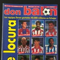 Coleccionismo deportivo: FÚTBOL DON BALÓN 1139 - FRAN DEPOR - VALENCIA - AMOR - ATHLETIC - ZE ROBERTO - MADRID - COPA AFRICA. Lote 207841866