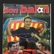 Coleccionismo deportivo: FÚTBOL DON BALÓN 1386 -VALENCIA CAMPEÓN LIGA - POSTER VILLARREAL - ARAGONÉS - CITY CHAMPIONS MADRID. Lote 207845298