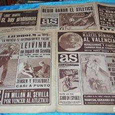 Coleccionismo deportivo: AS- LOTE DE 5 ORIGINALES EN BUEN ESTADO-IMPORTANTE LEER Y VER FOTOS. Lote 207846047
