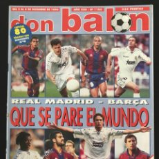 Coleccionismo deportivo: FÚTBOL DON BALÓN 1103 - POSTER RAYO - MADRID BARÇA - VALENCIA - TENERIFE - HÉRCULES - EIBAR - JUVE. Lote 207848165
