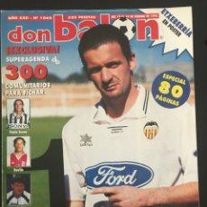 Coleccionismo deportivo: FÚTBOL DON BALÓN 1062 - POSTER ETXEBERRIA - MIJATOVIC - CANEDA COMPOS - DE PAULA - NUMANCIA FRANCIA. Lote 207852770