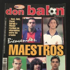 Coleccionismo deportivo: FÚTBOL DON BALÓN 1307 - POSTER RAYO - ANTIC OVIEDO - ZAMORA - DUDEK - STOICHKOV - COPAS EUROPEAS. Lote 207860251