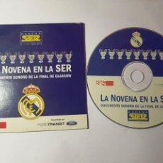 Collectionnisme sportif: CD - AS - LA NOVENA EN LA SER. - GLASGOW. REAL MADRID.. Lote 207864407