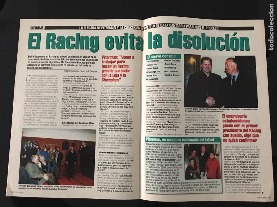 Coleccionismo deportivo: Fútbol don balón 1423 - Poster Espanyol - Atlético - Iniesta - Racing - Camacho - Sporting - as - Foto 5 - 207871931