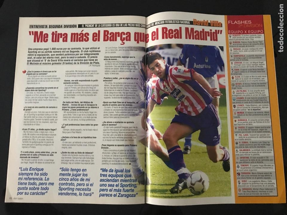 Coleccionismo deportivo: Fútbol don balón 1423 - Poster Espanyol - Atlético - Iniesta - Racing - Camacho - Sporting - as - Foto 6 - 207871931