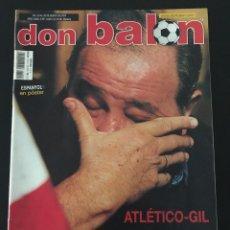 Coleccionismo deportivo: FÚTBOL DON BALÓN 1423 - POSTER ESPANYOL - ATLÉTICO - INIESTA - RACING - CAMACHO - SPORTING - AS. Lote 207871931
