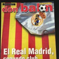 Coleccionismo deportivo: FÚTBOL DON BALÓN 1401 - POSTER KARPIN - MADRID - AMOR - FONTAINE - BETIS - ESPAÑA - DEPORTIVO SUPERC. Lote 207913647