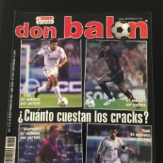Coleccionismo deportivo: FÚTBOL DON BALÓN 1353 - POSTER GUERRERO - SEVILLA - HUNGARIA - MADRID - C.EUROPEAS - PENEV - TORINO. Lote 207954491