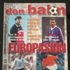 Coleccionismo deportivo: FÚTBOL DON BALÓN 1286 - POSTER ESPAÑA - CASILLAS - EUROCOPA 2000 - VILLARREAL - MAKELELE. Lote 207982188