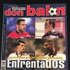 Coleccionismo deportivo: FÚTBOL DON BALÓN 1253 - POSTER ESPANYOL - RACING - ESTEBAN - COPAS EUROPEAS - ZOLA - SAVIOLA - AS. Lote 208027962