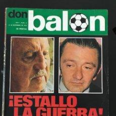 Coleccionismo deportivo: FÚTBOL DON BALÓN 13 - EXTRA RESUMEN 75 - NEESKENS - AS MARCA ALBUM AÑO 1975 SPORT. Lote 208066242