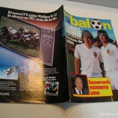 Coleccionismo deportivo: REVISTA DON BALON DEL 22 AL 28 DE JULIO DE 1980 Nº 250 POSTER VALENCIA VER FOTOS .. Lote 208110528