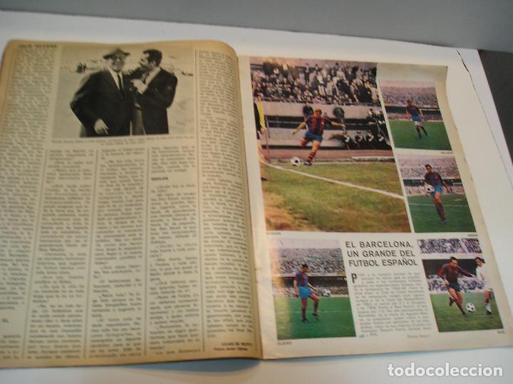Coleccionismo deportivo: REVISTA AS COLOR Nº 6 1971. GRAN POSTER CF BARCELONA Nº 6 JULIO IGLESIAS DEJA EL FUTBOL - Foto 4 - 208110657