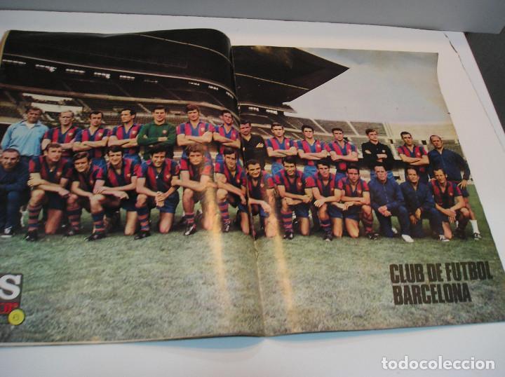 Coleccionismo deportivo: REVISTA AS COLOR Nº 6 1971. GRAN POSTER CF BARCELONA Nº 6 JULIO IGLESIAS DEJA EL FUTBOL - Foto 5 - 208110657